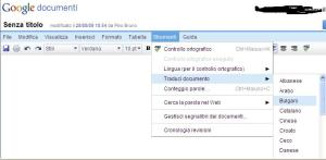 Adesso Google Documents traduce i testi in 42 lingue