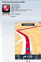 Il Tomtom per iPhone con mappe europee costa 99,99 euro