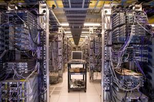 Una batteria di server