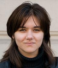 La neo parlamentare europea Amelia Andersdotter, del Partito dei pirati svedese