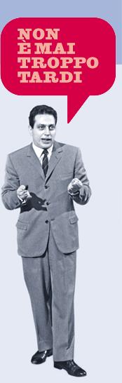 Il mitico maestro Alberto Manzi