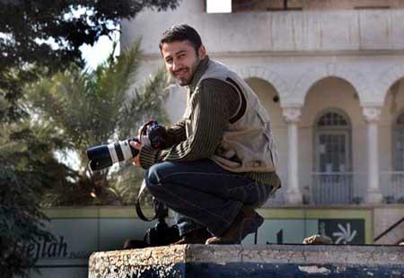 Namir Noor-Eldeen il giornalista della Reuters ucciso a Baghdad nel 2007 dall'equipaggio di un Apache americano