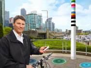 Il sindaco di Vancouver, Gregor Robertson, testimonial del V-Pale