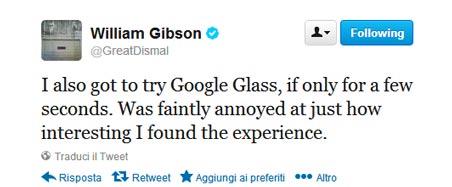 william-gibson-tweet-google-glass