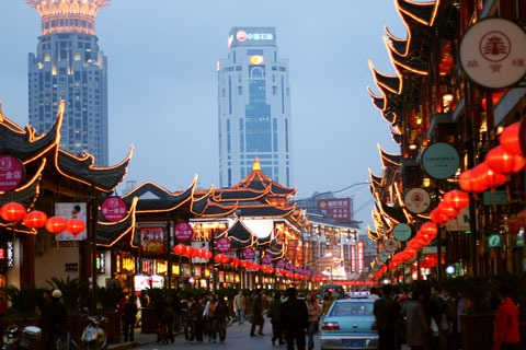 Cyber China è ambientato a Shanghai