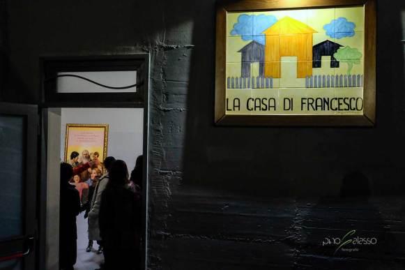 entrata della casa di francesco