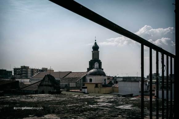 particolare del Palazzo Verna a Marigliano