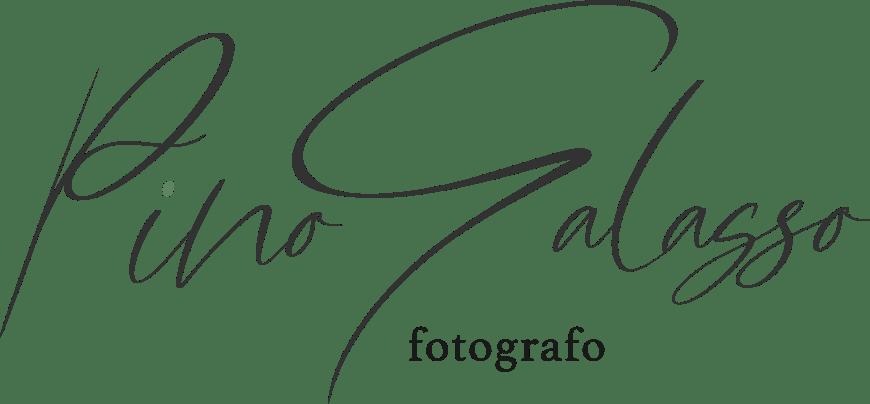 il logo di Pino Galasso fotografo per matrimonio