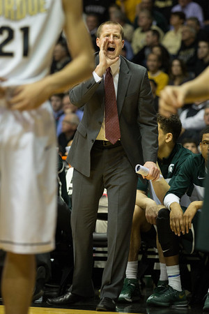Michigan State assistant coach Dane Fife