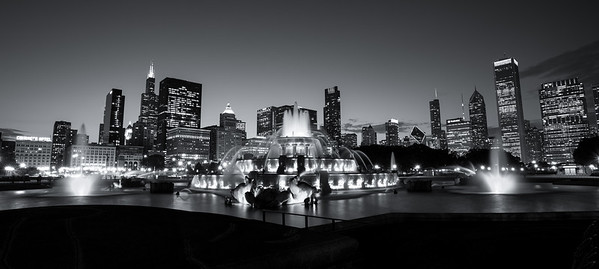 Buckingham Fountain in Chicago, Illinois during the Trey Ratcliff Photowalk
