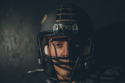 David Blough poses during the Purdue Football media day on August 9, 2015