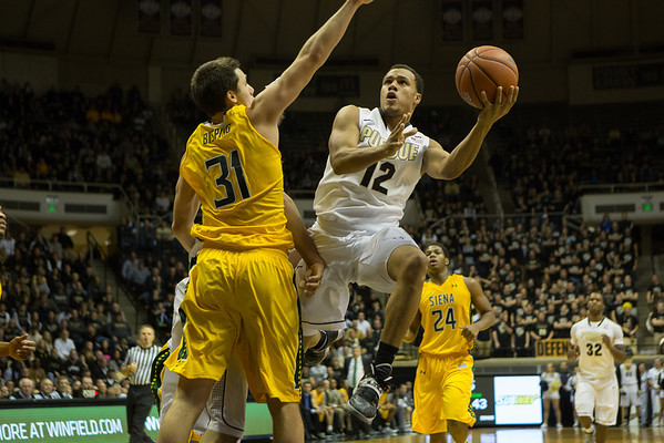 Purdue Boilermakers vs. Siena Saints Bryson Scott