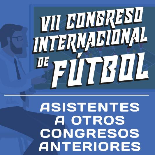 7º Congreso Internacional de Fútbol (2020) antiguos asistentes