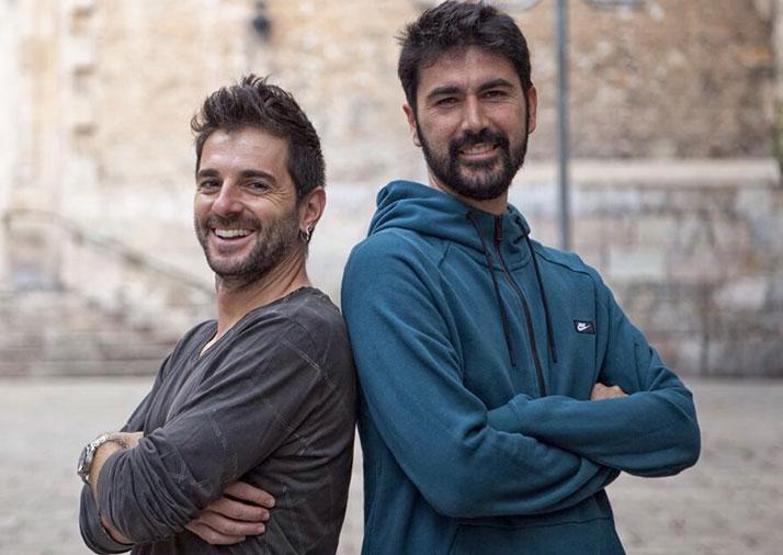 Jofre Mateu y Miguel Llorente