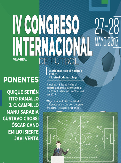 IV Congreso Internacional de Fútbol 2017