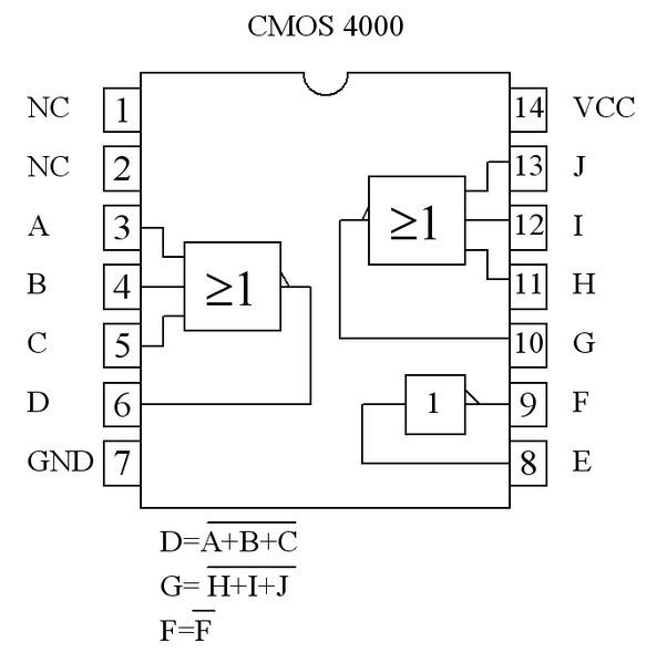 Or Gate Ic Chip Diagram, Or, Free Engine Image For User