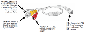 Lorex 6pin din to rca : Pinout cable and connector diagramsusb, serial rs232,rj45 ether, vga