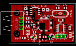 OBD2 to USB interface cable scheme and plate : Pinout