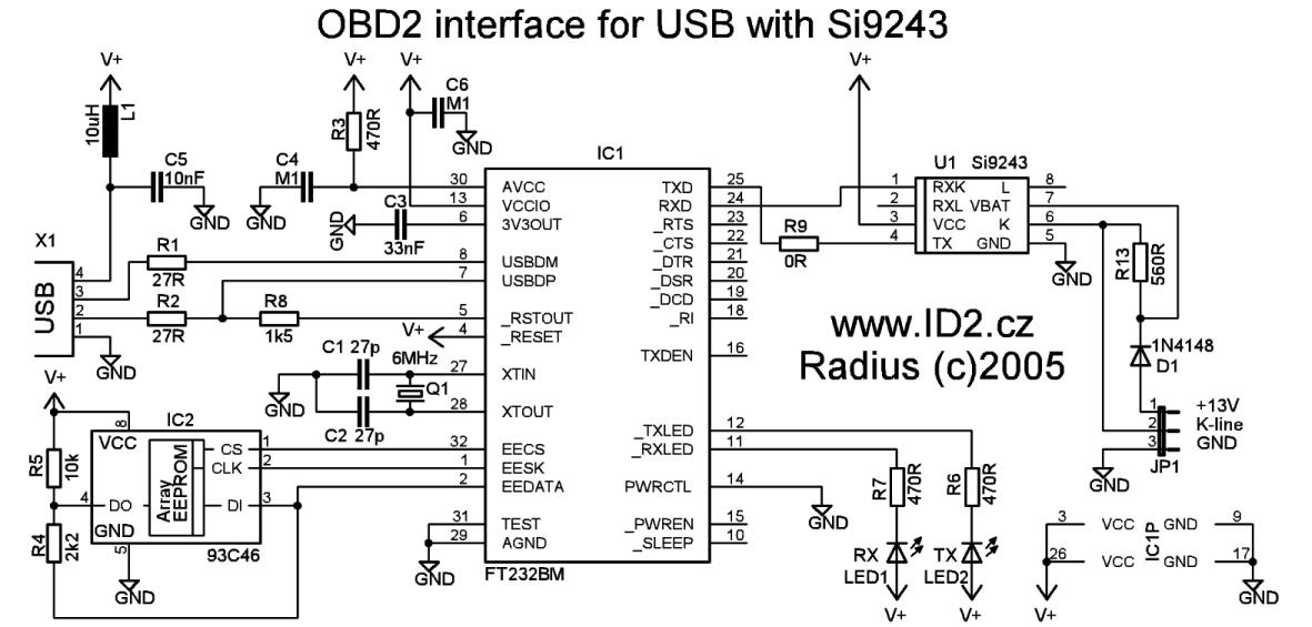 Dvi To Vga Cable Wiring Obd2 To Usb Interface Cable Scheme And Plate Pinout