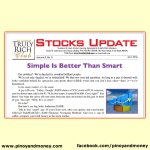 Truly Rich Club Stocks Update April 2014 – Simple Is Better Than Smart