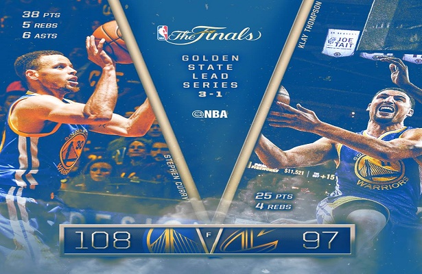 Replay: NBA Finals Game 4 GSW vs Cavs-4q - Pinoy Basketball