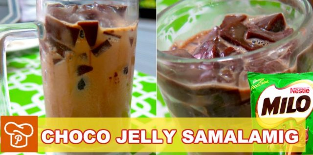 Choco Jelly Samalamig Recipe