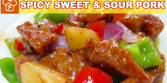 Spicy Sweet and Sour Pork