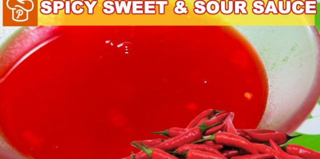 Spicy Sweet and Sour Sauce Recipe