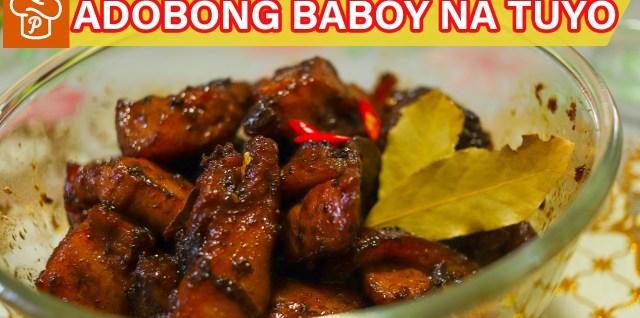 Adobong Baboy na Tuyo Recipe