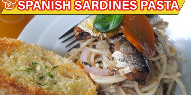 Spanish Sardines Pasta Recipe