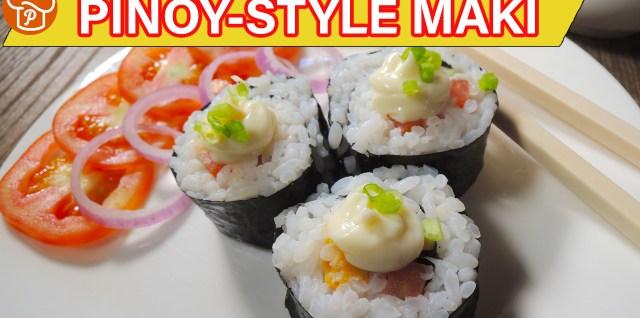 Pinoy-Style Maki Recipe