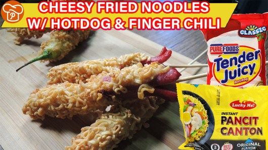 Cheesy Fried Noodles Recipe