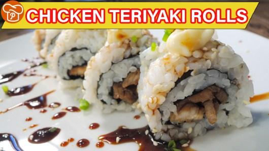 Chicken Teriyaki Rolls Recipe