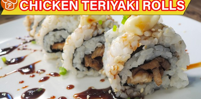 Chicken Teriyaki Rolls Recipe