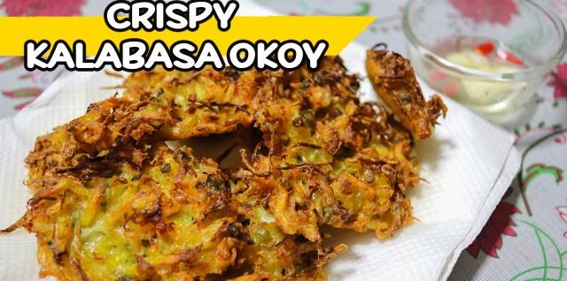 Crispy Kalabasa Okoy Recipe