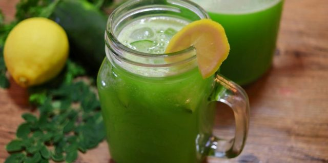 Moringa Cucumber Lemonade Recipe
