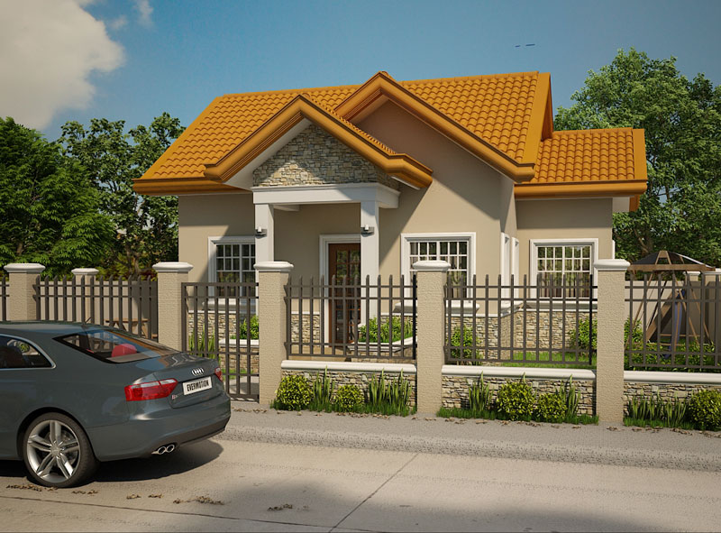 Small House Designs Shd 2012003 Pinoy Eplans Modern