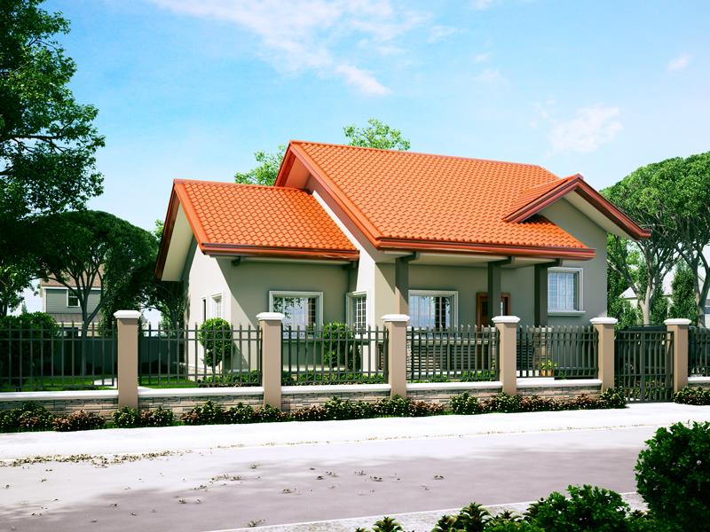 Small House Designs Series : SHD-2014006V2 | Pinoy ePlans
