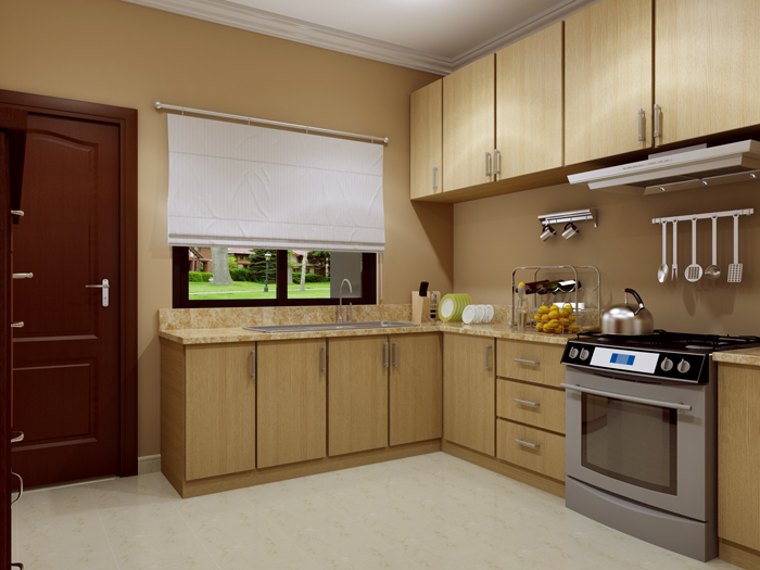 Kitchen design idea pinoy eplans modern house designs for Small flat kitchen design