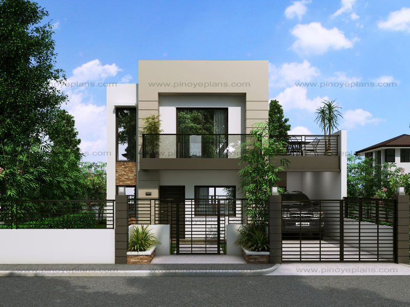 Modern House Design Series MHD 2015016 Pinoy EPlans Modern