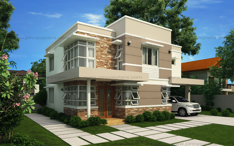 Modern House Design Series: MHD-2012006   Pinoy ePlans ...