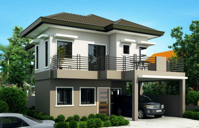 Small 2 Story House Plans With Balcony Joy Studio Design