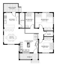 Small House Designs Series : SHD-2014006V2   Pinoy ePlans