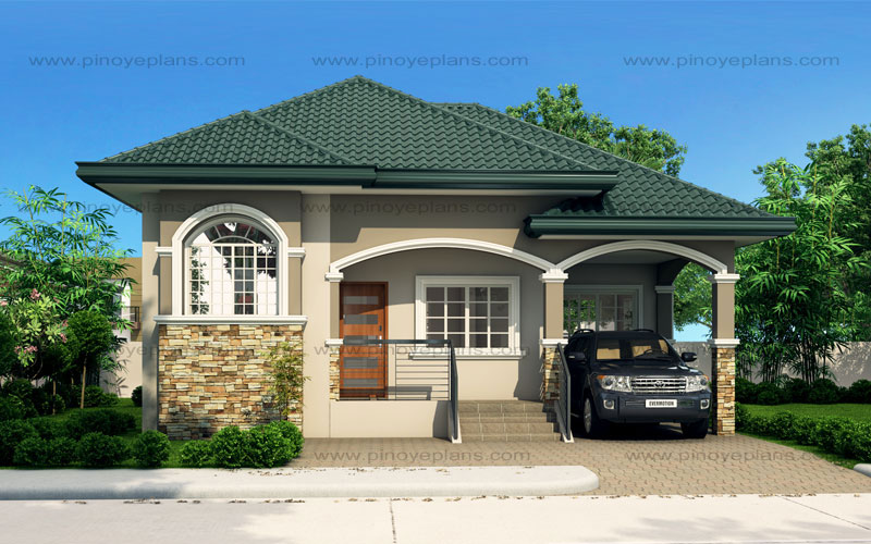 Atienza one story budget home shd 20115022 pinoy eplans for Home design philippines small area