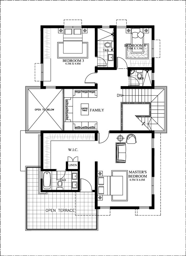 MHD-2016024-second-floor plan