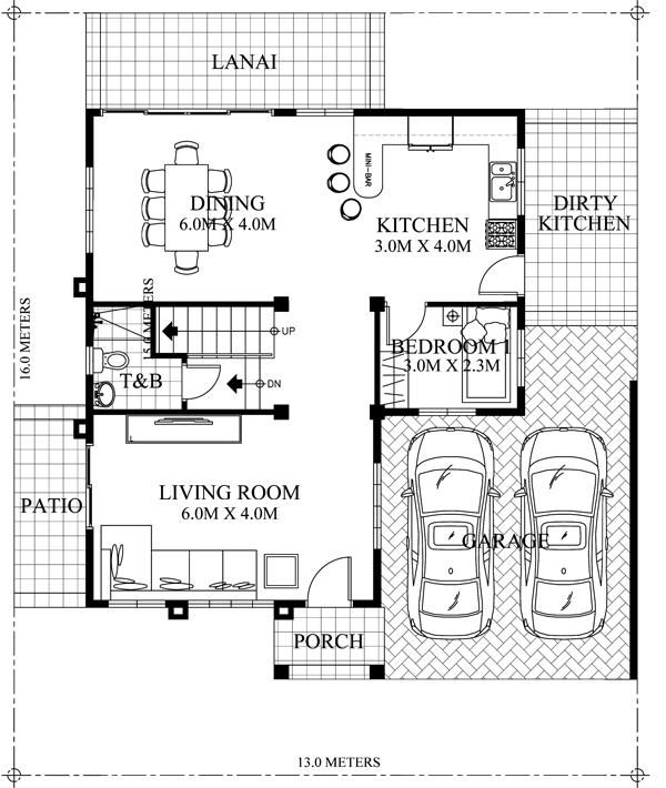 Marcelino - Classic 4-bedroom House Plan