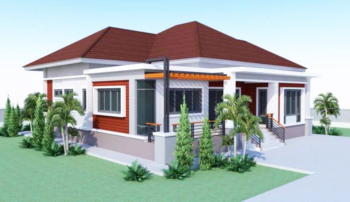 2 Bedroom House Design In 160 Sq M Floor Area Pinoy Eplans