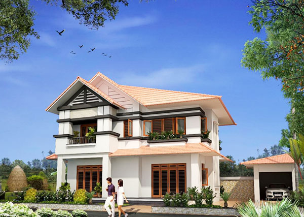 Captivating Four Bedroom Two Storey House Design Pinoy