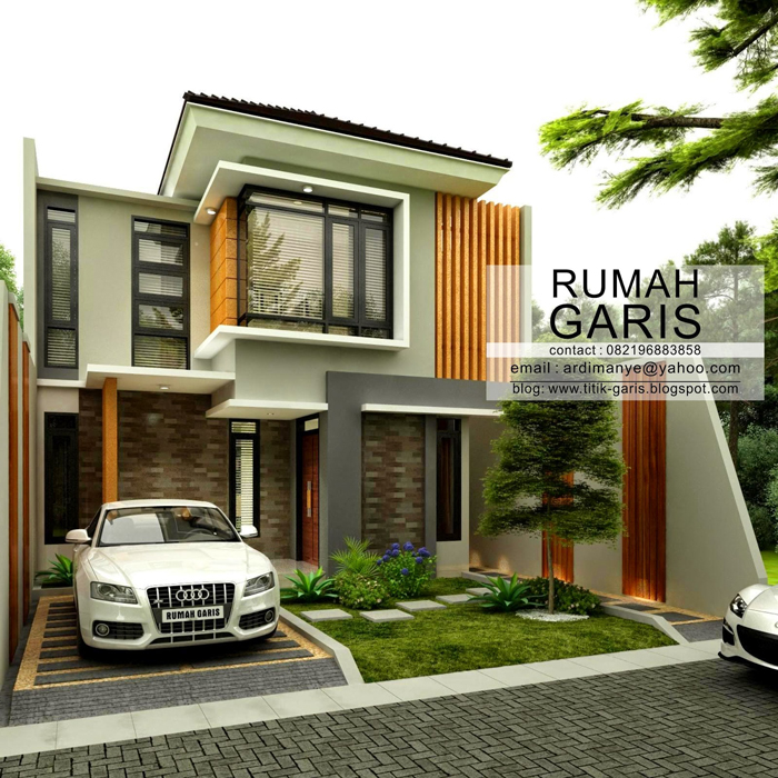 Two story narrow lot house plan pinoy eplans for Narrow lot house plans with rear garage