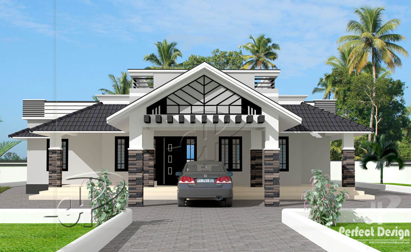 One Storey with Roof Deck 1 - Download Small House Design 2 Storey With Rooftop Pics